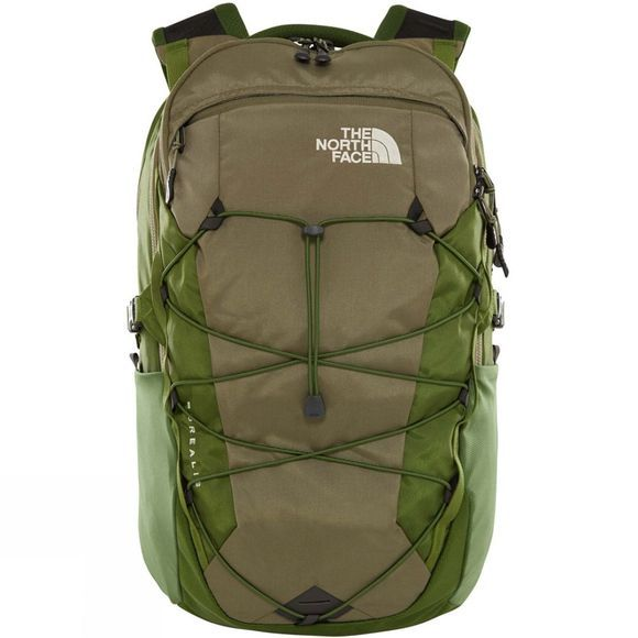 The North Face Borealis Rucksack Four Leaf Clover/Garden Green