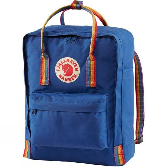 Fjallraven Kånken Rainbow Backpack Deep Blue/Rainbow Pattern