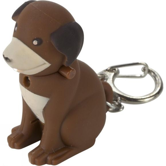 Regatta Animal Keyring Torch Dog (Brown)
