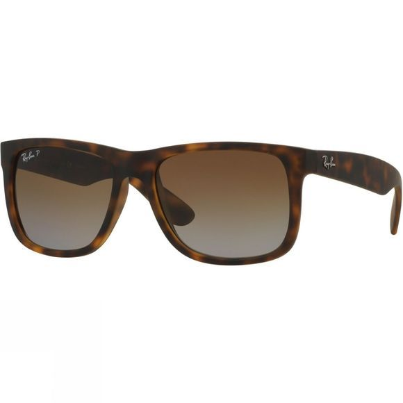 Ray Ban Justin Classic Sunglasses Tort/Brown Gradient