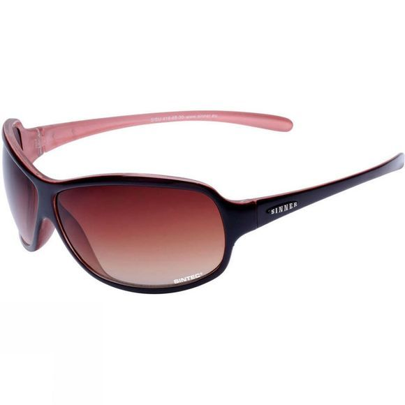 Sinner Marvel Polarised Sunglasses Wine Pink/Brown