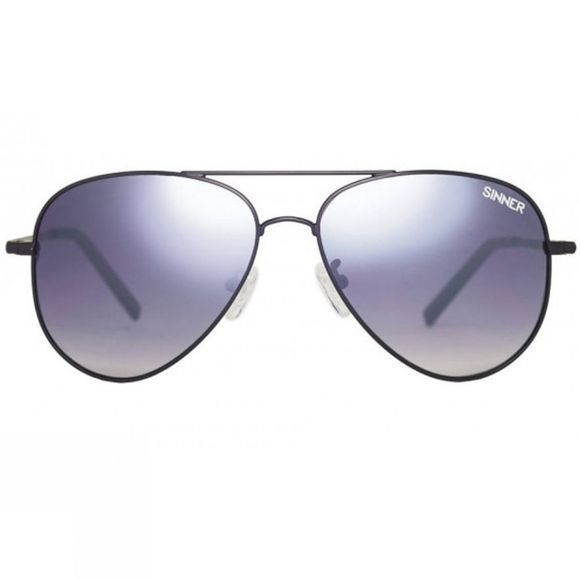 Sinner Morin Sunglasses Matt Black Metal/smoke Gradient Mirror