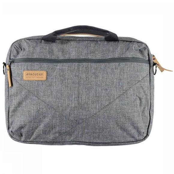 Ayacucho Wire Grey Laptop Briefcase Grey Heather