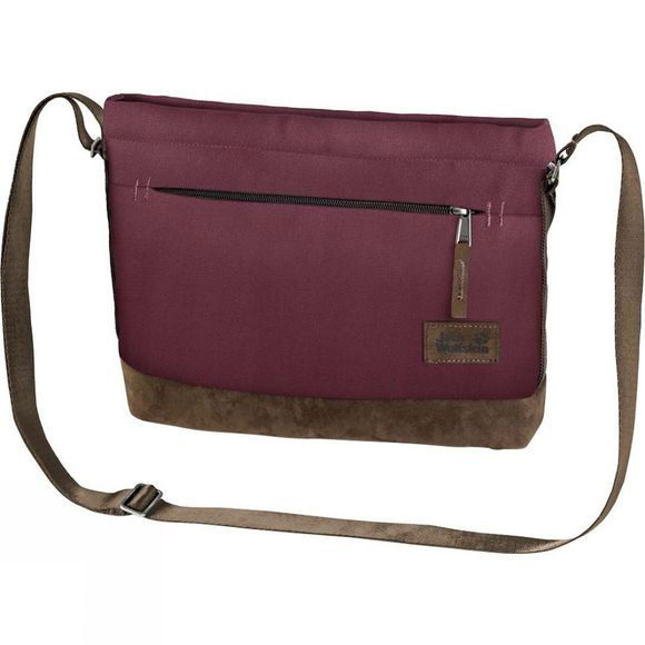 Jack Wolfskin Womens Cocopa Bag Handbag Burgundy