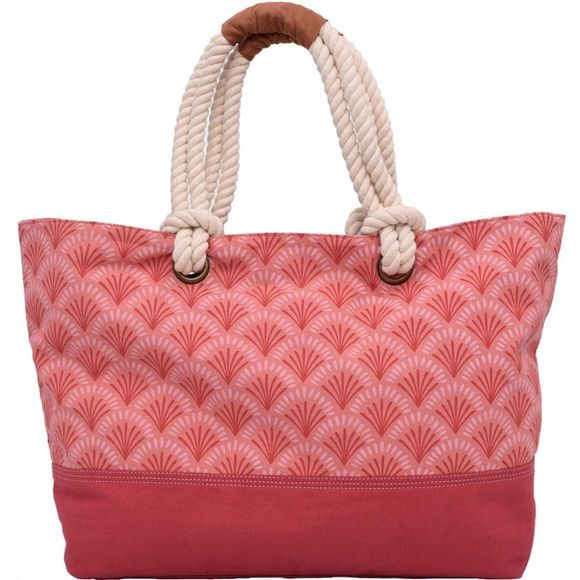 Brakeburn Womens Shells Beach Bag Pink