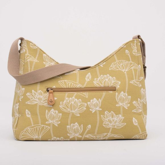 Brakeburn Womens Lotus Hobo Bag Yellow