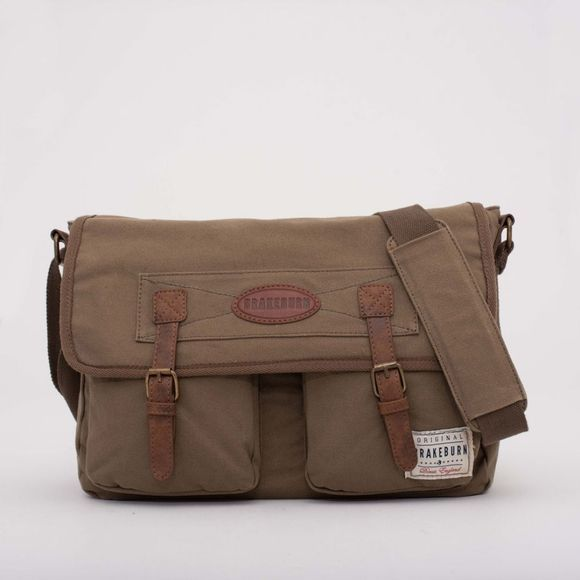 Brakeburn Messenger Bag Khaki