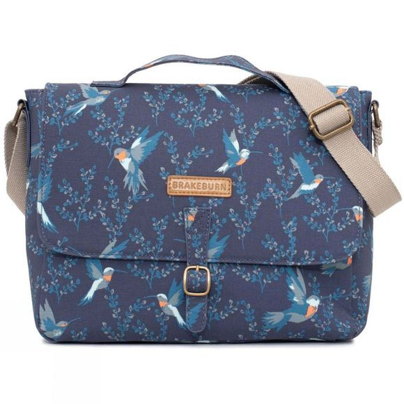 Brakeburn Hummingbird Satchel Blue