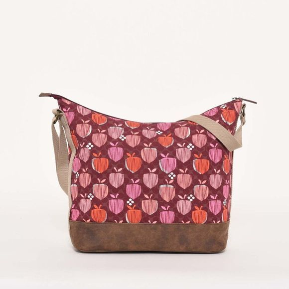 Brakeburn Acorn hobo bag Berry