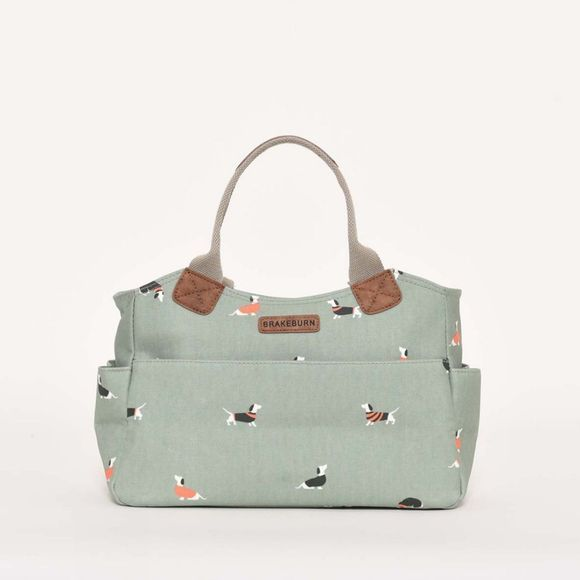 Brakeburn Sausage dog day bag Soft Green