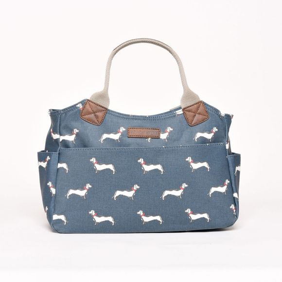 Brakeburn Sausage Dog Day Bag Teal