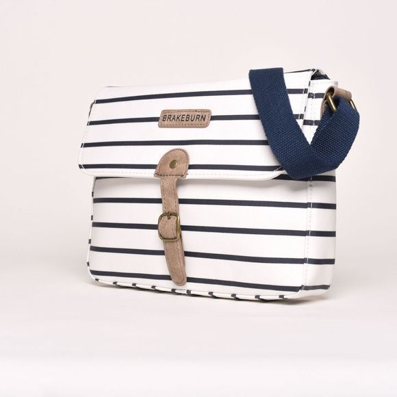 Brakeburn Stripe Saddle Bag Multi
