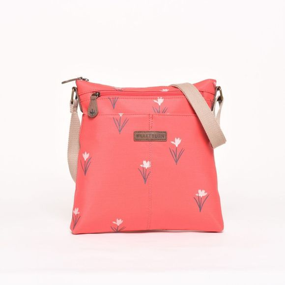 Brakeburn Tulip Cross Body Bag Red
