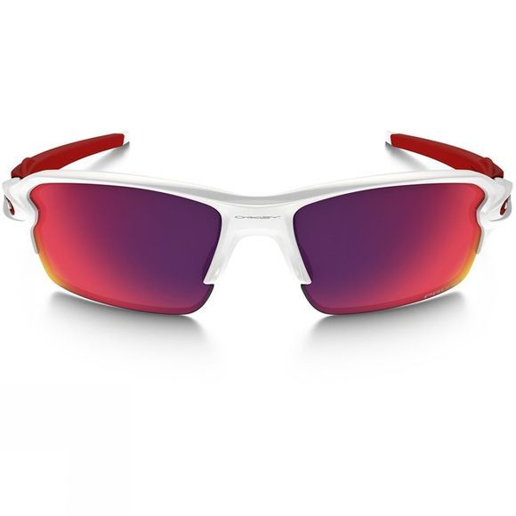 Oakley Flak 2.0 Sunglasses Polished White Frame/Prizm Road Lens