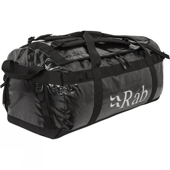 Rab Expedition Kit Bag 120L Steel/Silver/Black