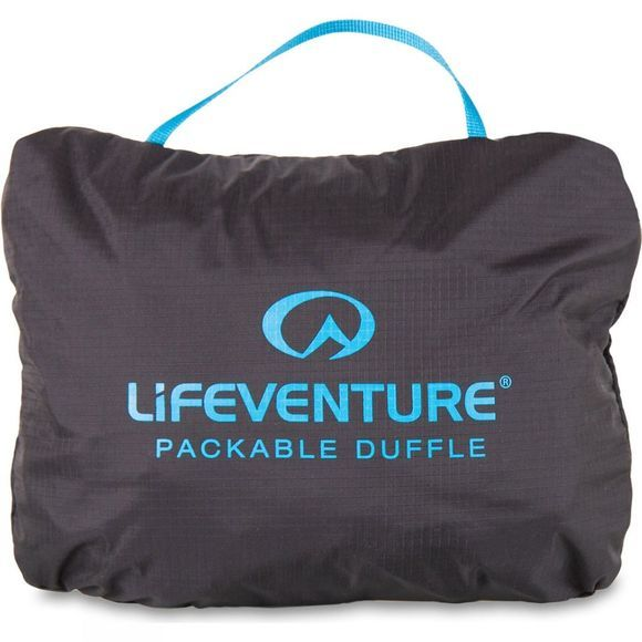 Lifeventure Travel Light Packable Duffle 70L Black