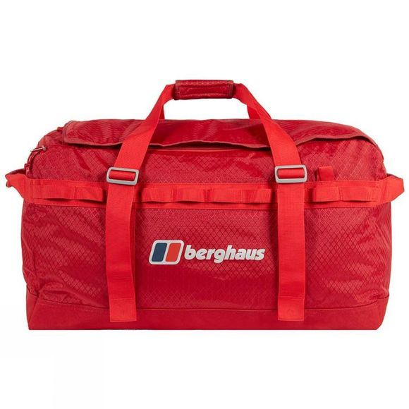 Berghaus Expedition Mule 100 Holdall Rucksack Red Dahlia/Haute Red