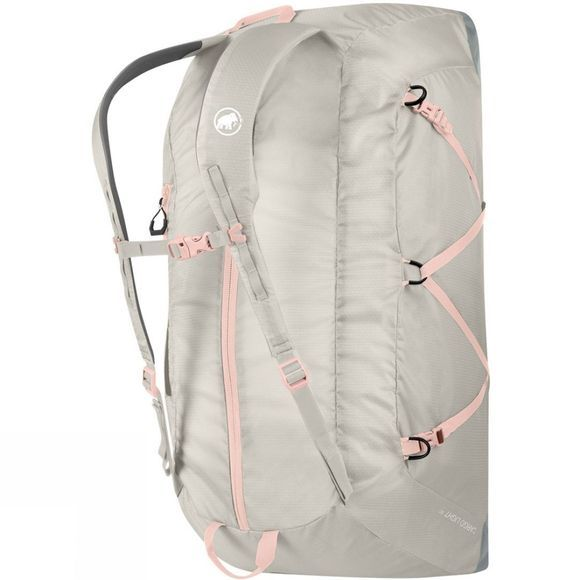 Mammut Cargo Light 60L Travel Bag Linen/Iron