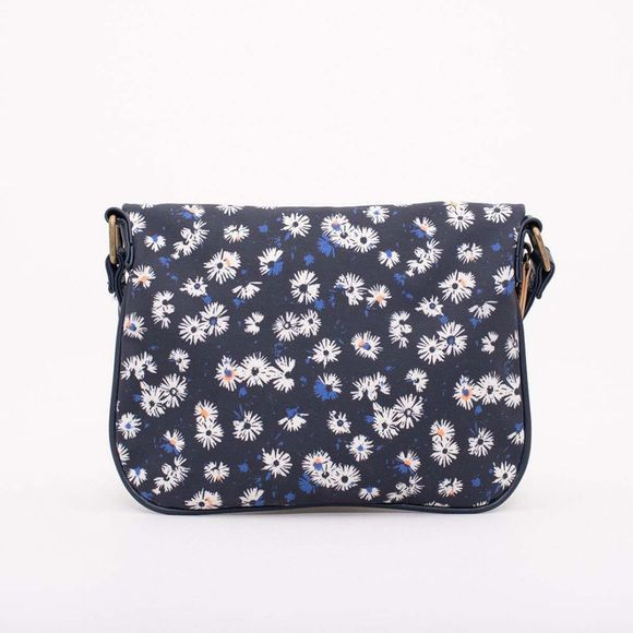 Brakeburn Aster Daisy Roo Pouch Bag Navy