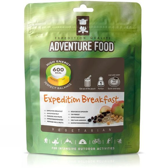 Adventure Food Expedition Breakfast No Colour