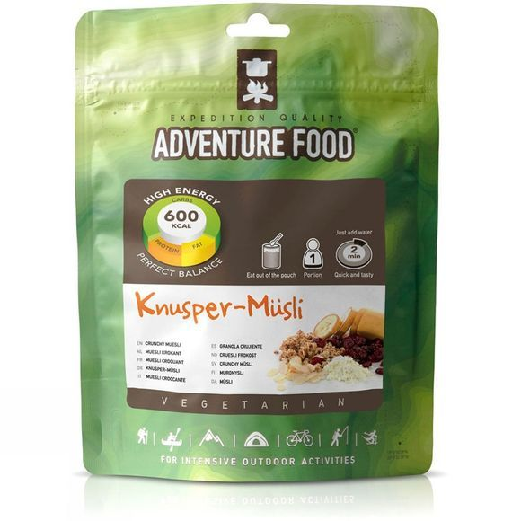 Adventure Food Crunchy Muesli No Colour