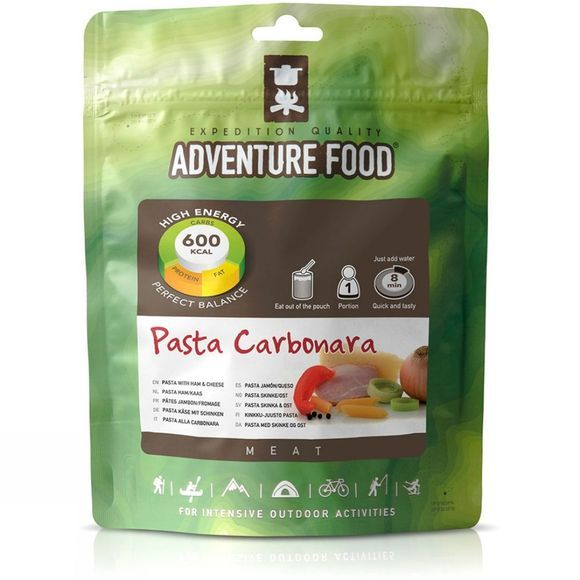 Adventure Food Pasta Carbonara No Colour