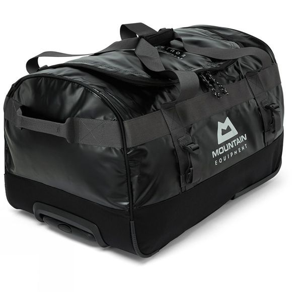 Mountain Equipment Roller Kit Bag 70L Black/Shadow Grey/Silver