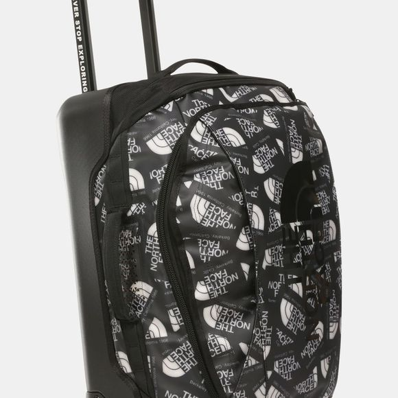 The North Face Rolling Thunder Suitcase 22in TNF Black Label Toss Print/TNF Black