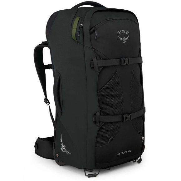 Osprey Farpoint Wheels 65 Travel Bag Black