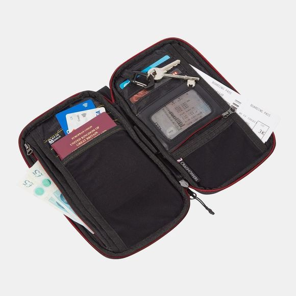 Craghoppers Travel Wallet Black