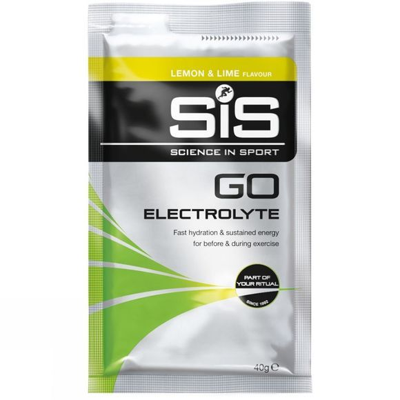 SiS Go Electrolyte Sachet Lemon & Lime 40g No Colour