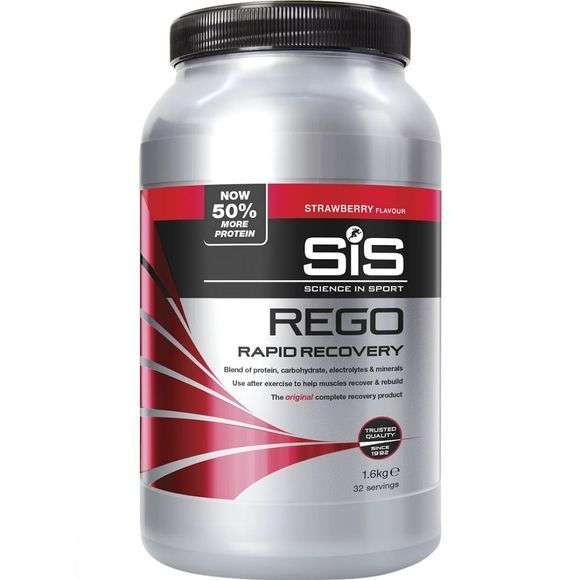 Rego Rapid Recovery Protein Strawberry 1.6kg
