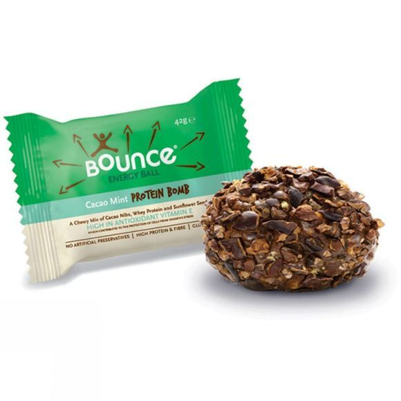 Bounce Energy Ball Cacao Mint Protein Bomb No Colour