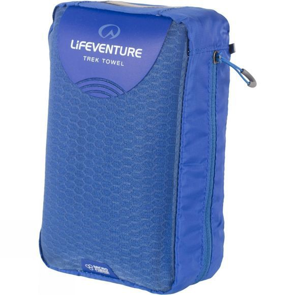 Lifeventure Micro Fibre Comfort Travel Towel (Giant) Blue