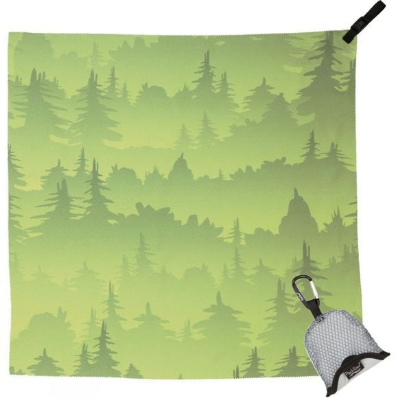 PackTowl Nano Towel Green Trees