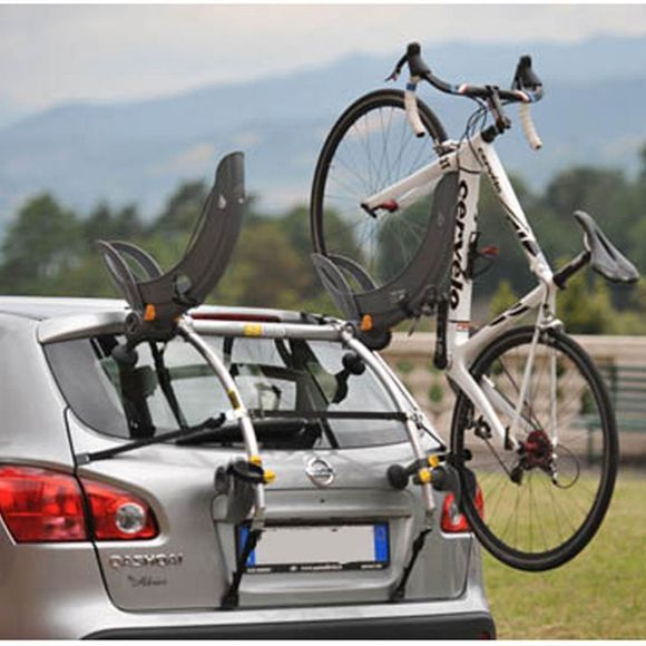 Saris Grand Fondo Car Rack Mid Grey