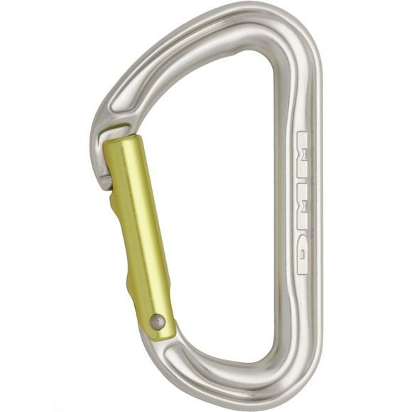 DMM Shadow Straight Karabiner Silver Lime