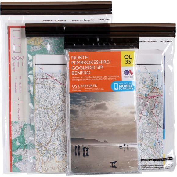 DriStore LocTop Map Bag (Set of 3)