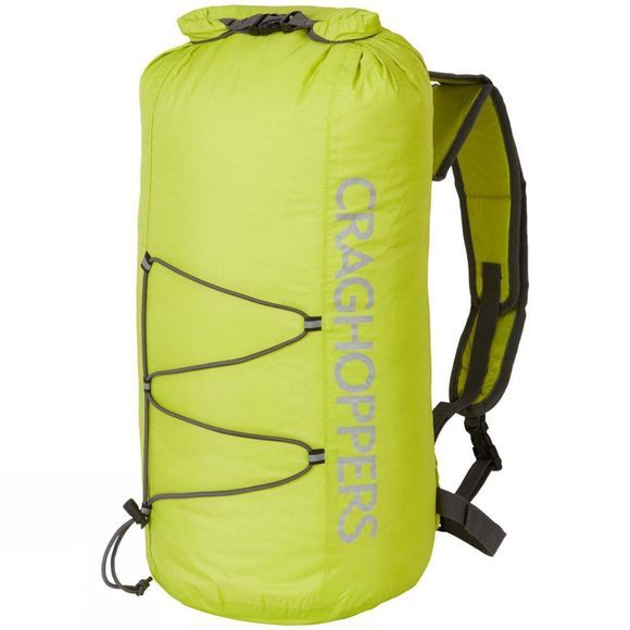 Craghoppers 15L Packaway Rucksack Spring Yellow/Quarry Grey