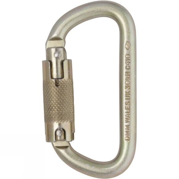 10mm Equal D Steel Locksafe Karabiner
