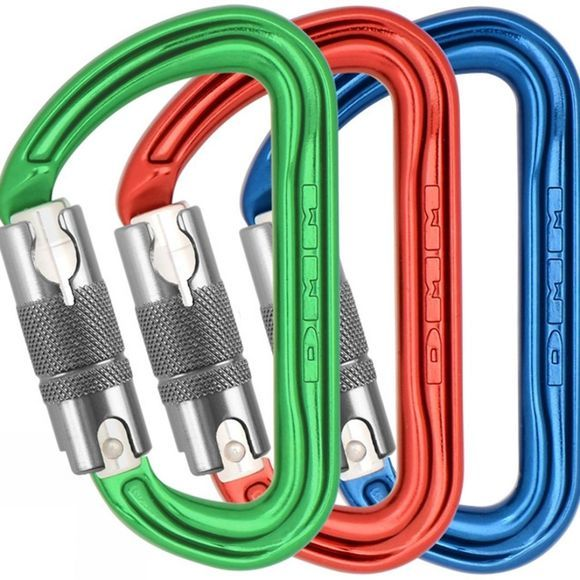 Shadow Locksafe Pack of 3 Colour Karabiners