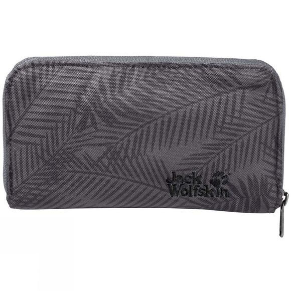 Jack Wolfskin Womens Casherella Wallet Leaf Dark Grey