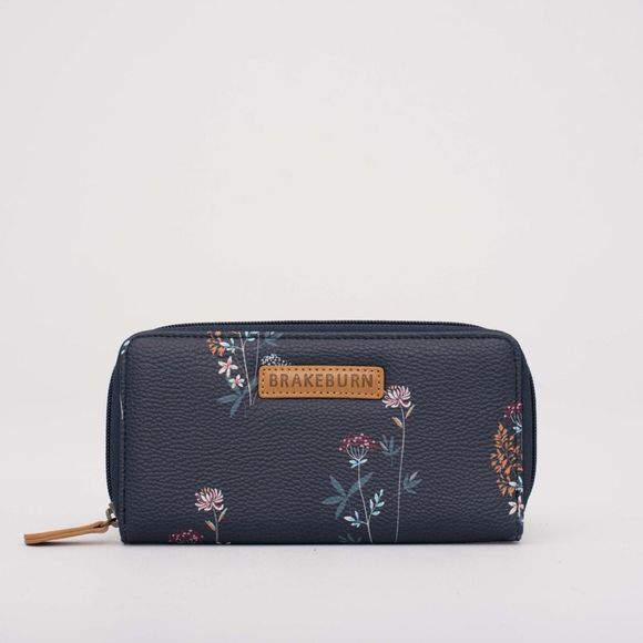 Brakeburn Womens Floral Purse Grey