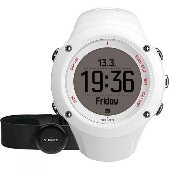 Suunto Ambit3 Run HR Watch White