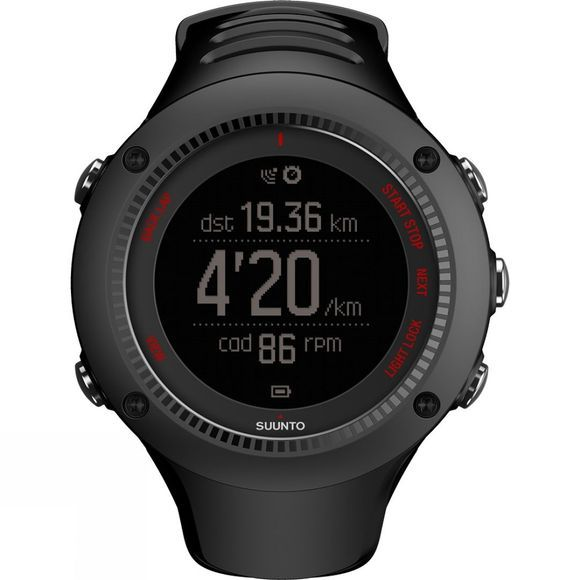 Suunto Ambit3 Run Watch Black