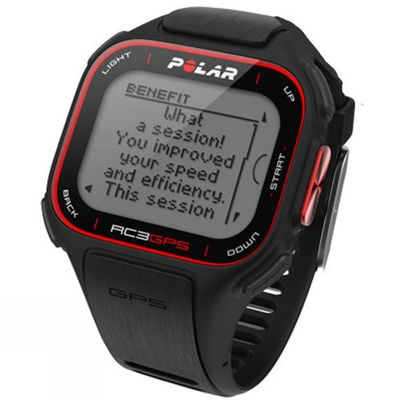 Polar RC3 GPS With HRM Black