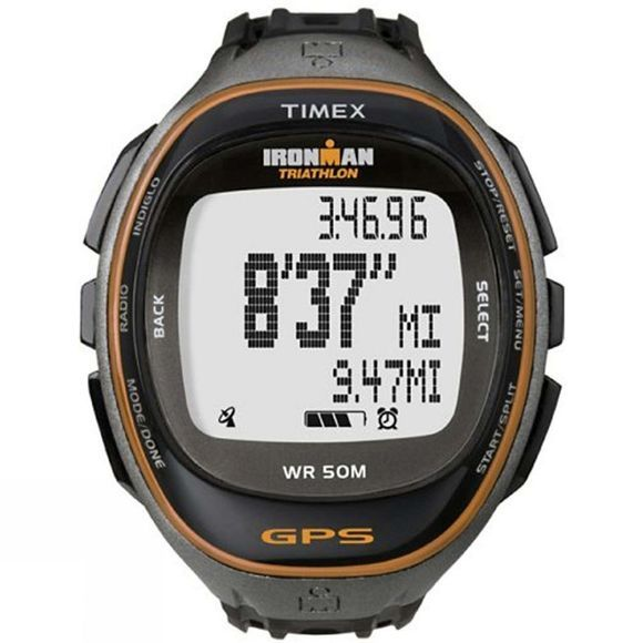 Timex Run Trainer With HRM Black