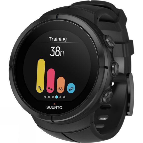 Suunto Spartan Ultra Titanium HR GPS Watch All Black