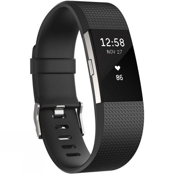 Fitbit Charge 2 Black/Silver