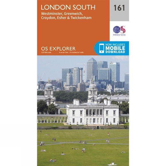 Explorer Map 161 London South